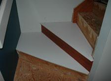 Santos Mahogany Triangular Tread Templates, Calgary Alberta ...