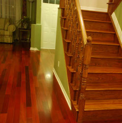 Brazilian Cherry Stair Treads, ...