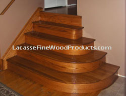Nice Hardwood Stairs, SSmith Washington DC