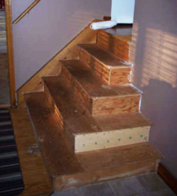 Marvelous Recover Hardwood Stairs Before Picture, Scarborough Ontario