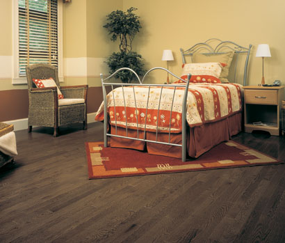 Mirage Red Oak Flooring, Idaho Stain, Exclusive grade