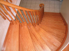 custome oak wood stairs, Toronto