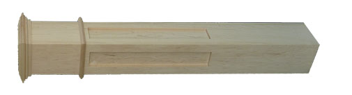 Fluted Box Newel For Handrailing