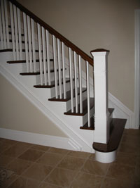 Lacasse Wood Box Newels For Interior Railings